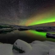 Northern lights in Iceland. Photo by Adam Rifkin