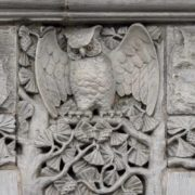 Owl in architecture