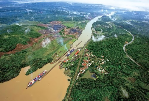 Panama Canal - canal to link the oceans