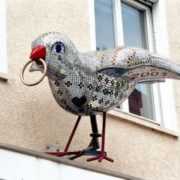 Sparrow has become a symbol of Ulm