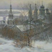 Victor Lukyanov. Annunciation Monastery in Nizhny Novgorod