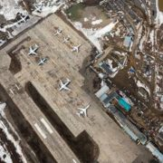 Airport in Mirny
