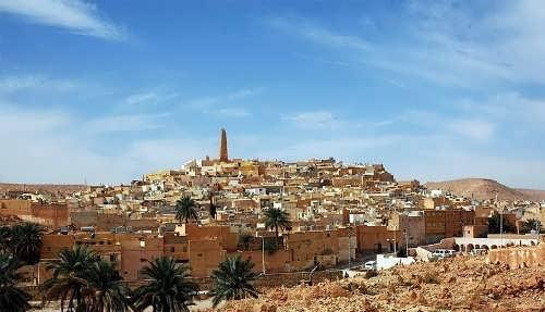 Algeria - Desert Land on the Sea