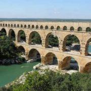 Aqueduct Pont du Gard
