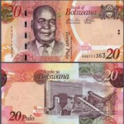 Bank note of Botswana