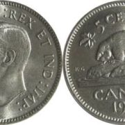 Beaver on the Canadian coin