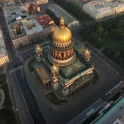 Cathedral from the air
