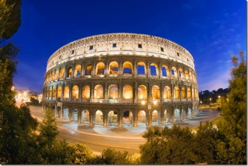 Colosseum - arena for gladiators and beasts