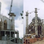 Construction of the mosque