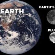 Earth and Pluto