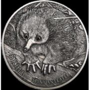 Echidna on the coin