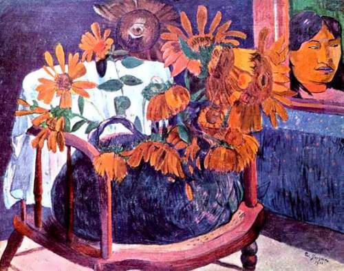 Gauguin. Sunflowers