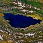 Issyk-Kul from space