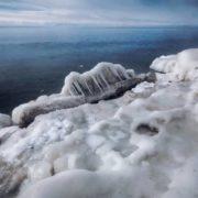Issyk-Kul in winter