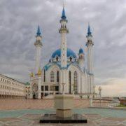 Picturesque mosque