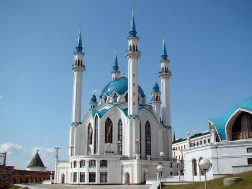 Kul Sharif Mosque - the main shrine of Tatarstan