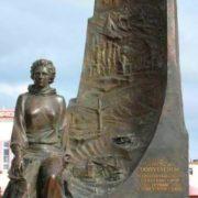 Monument to Larissa Popugaeva
