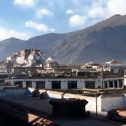 Old city and Potala
