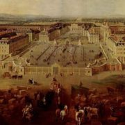 Palace in the days of Louis XV