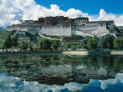 Potala Palace - residence of the Dalai Lama