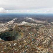 Stunning diamond mine