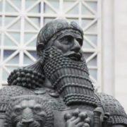 The Babylonian king Hammurabi
