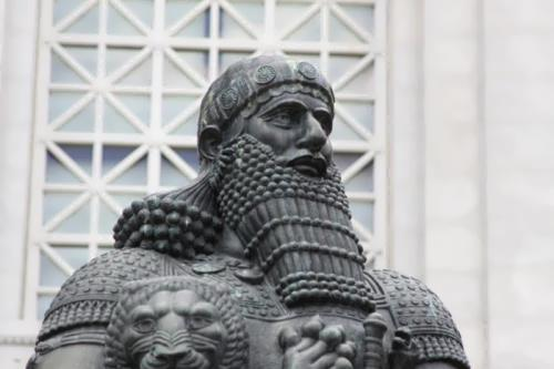 The Babylonian king Hammurabi