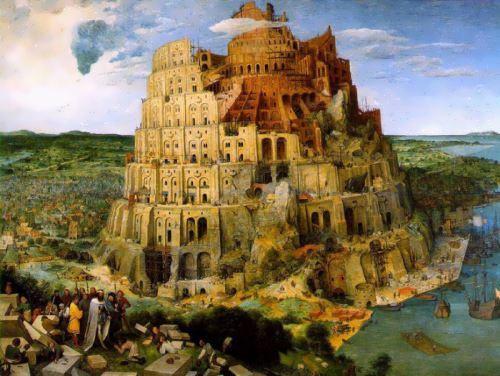 The Tower of Babel. Brueghel the Elder, 1563