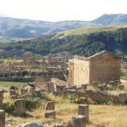 The ancient Roman city of Djemila