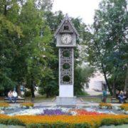 The cuckoo clock in Penza