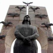 The monument to Volodichkiny family