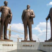 Three Dikgosi Monument
