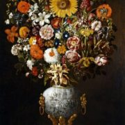 Tomаs Hiepes. Vase of Flowers, 1643