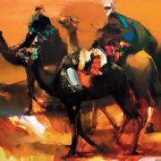 Valery Blokhin, oil on canvas