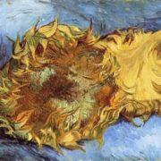 Vincent Van Gogh. Ripe sunflower