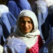 A young Afghan girl, November 14, 2001