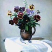 Alexander Shilov. The Violets, 1982