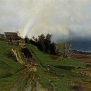 Alexey Kondratievich Savrasov. The Rainbow. 1875