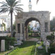 Arch of Marcus Aurelius in Tripoli