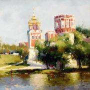 Bilyaev Roman. Novoelevichy Convent