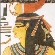 Egyptian goddess Serqet