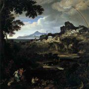 Joseph Anton Koch. Heroic Landscape with Rainbow