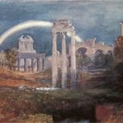 Joseph Mallord William Turner. Rome The Forum with a Rainbow