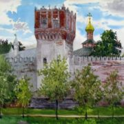 Kiryanova Victoria. Tower of the Novodevichy Convent
