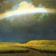 Kuindzhi Arkhip Ivanovich. The Rainbow. 1900-05