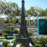 Lego-miniature of the Eiffel Tower