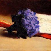 Manet Edouard. Bouquet Of Violets