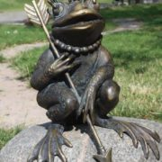 Monument to Princess Frog in Kaliningrad