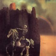Salvador Dali The Rider Named Death.