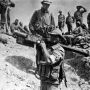 Soviet soldiers in Afghan